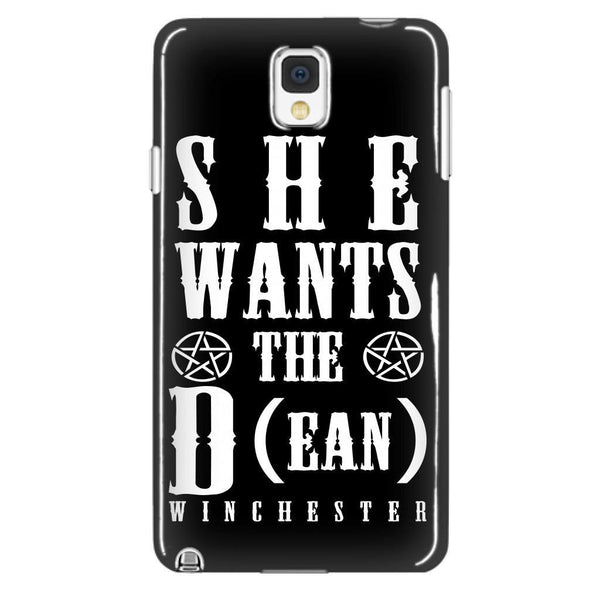 She Wants The D (ean WINCHESTER) - Phone Cover - Phone Cases - Supernatural-Sickness - 2
