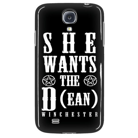 She Wants The D (ean WINCHESTER) - Phone Cover - Phone Cases - Supernatural-Sickness - 3