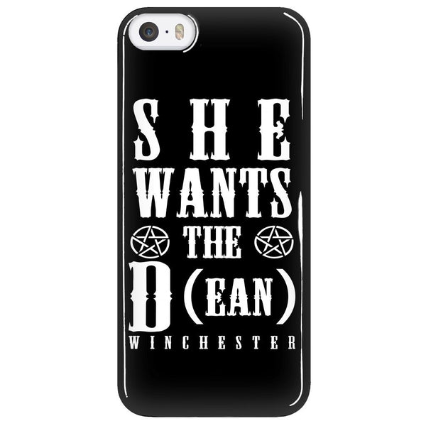 She Wants The D (ean WINCHESTER) - Phone Cover - Phone Cases - Supernatural-Sickness - 5