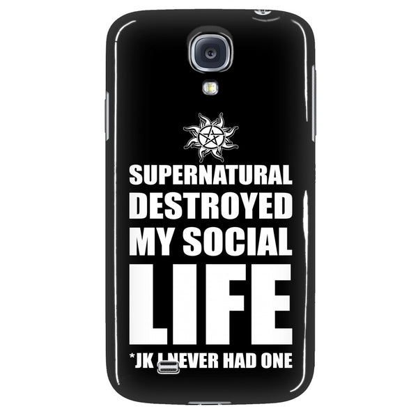 Supernatural Destroyed My Social Life - Phonecover - Phone Cases - Supernatural-Sickness - 3