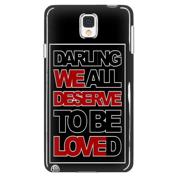 We All Deserve To Be Loved - Phonecover - Phone Cases - Supernatural-Sickness - 1