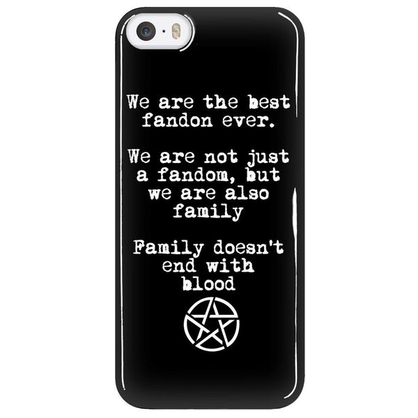 We are the best fandom ever - Phonecover - Phone Cases - Supernatural-Sickness - 5
