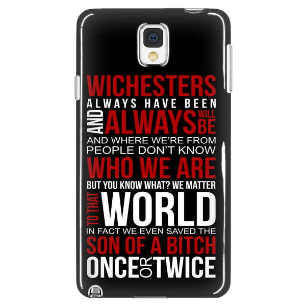 Winchesters always have been and always will be - Phonecover - Phone Cases - Supernatural-Sickness - 1
