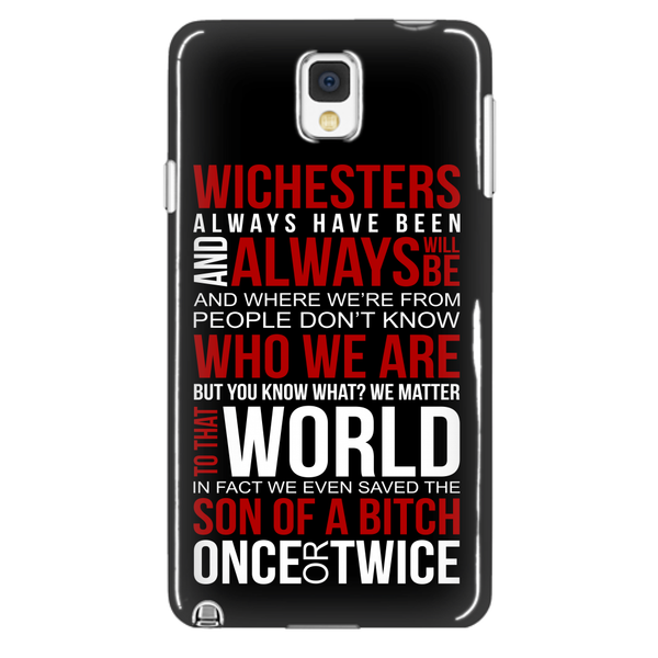 Winchesters always have been and always will be - Phonecover - Phone Cases - Supernatural-Sickness - 2