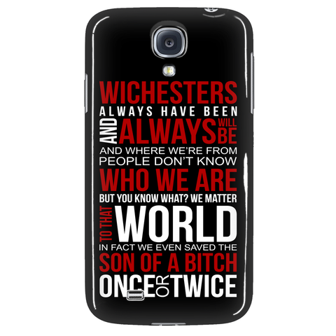Winchesters always have been and always will be - Phonecover - Phone Cases - Supernatural-Sickness - 3