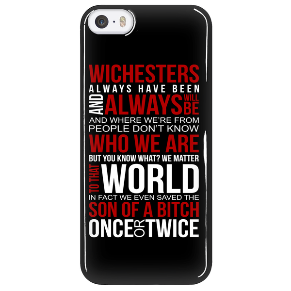Winchesters always have been and always will be - Phonecover - Phone Cases - Supernatural-Sickness - 5