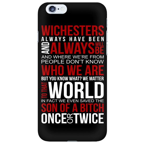 Winchesters always have been and always will be - Phonecover - Phone Cases - Supernatural-Sickness - 6