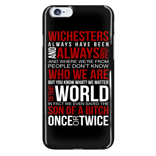Winchesters always have been and always will be - Phonecover - Phone Cases - Supernatural-Sickness - 7