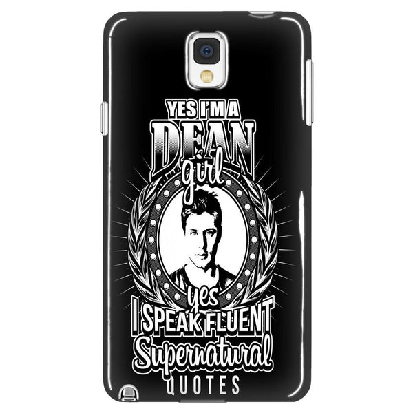 Yes Im A Dean Girl - Phonecover - Phone Cases - Supernatural-Sickness - 1
