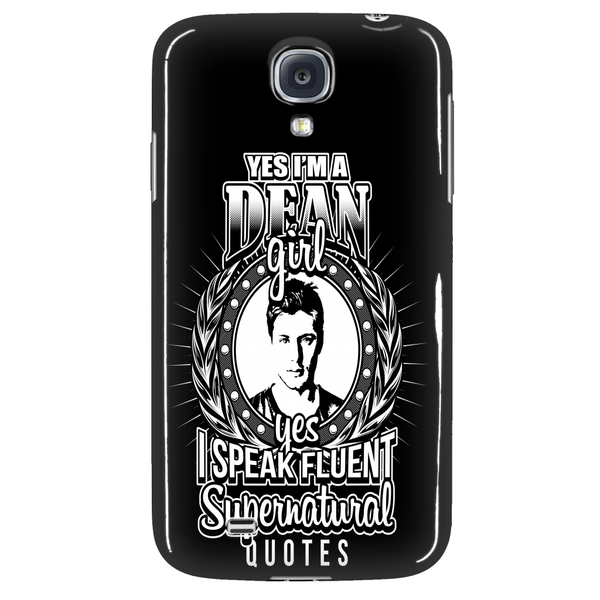 Yes Im A Dean Girl - Phonecover - Phone Cases - Supernatural-Sickness - 3