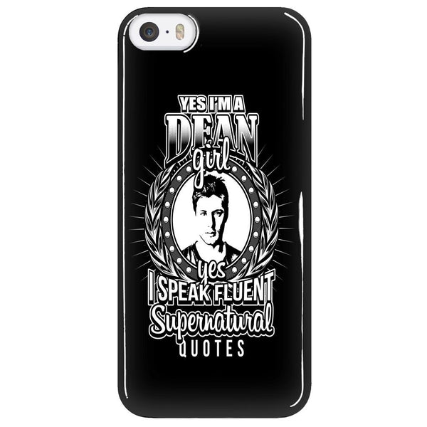 Yes Im A Dean Girl - Phonecover - Phone Cases - Supernatural-Sickness - 5