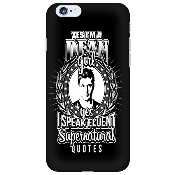 Yes Im A Dean Girl - Phonecover - Phone Cases - Supernatural-Sickness - 6