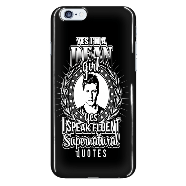 Yes Im A Dean Girl - Phonecover - Phone Cases - Supernatural-Sickness - 7