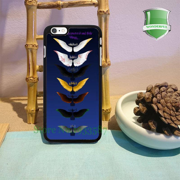 Supernatural Angel Wings Iphone Covers (Free Shipping) - Phone Cover - Supernatural-Sickness - 1