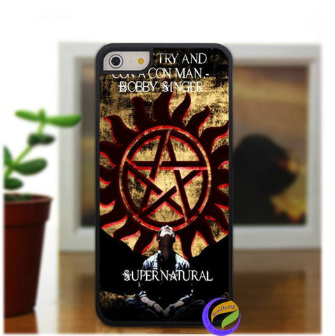 Supernatural  Anti Possession Iphone Covers (Free Shipping) - Phone Cover - Supernatural-Sickness