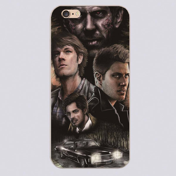 Supernatural Cast Phone Covers (Free Shipping) - Phone Cover - Supernatural-Sickness - 1