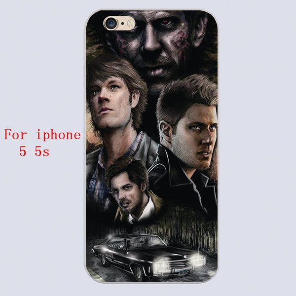Supernatural Cast Phone Covers (Free Shipping) - Phone Cover - Supernatural-Sickness - 3