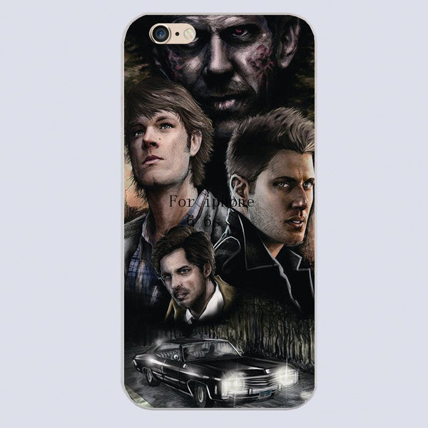 Supernatural Cast Phone Covers (Free Shipping) - Phone Cover - Supernatural-Sickness - 5
