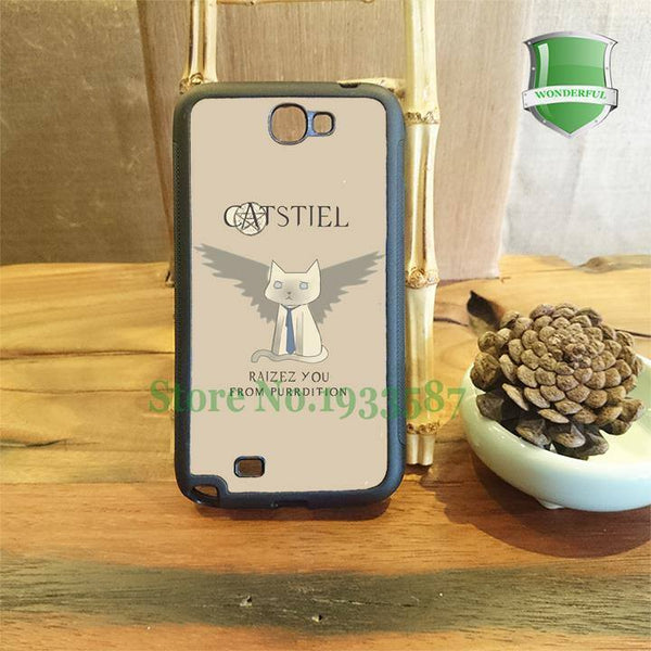 Supernatural Castiel Samsung Phone Covers - Phone Cover - Supernatural-Sickness - 1