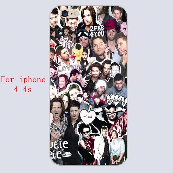 Supernatural COLLAGE Phone Cover for Iphone - Phone Cover - Supernatural-Sickness - 2