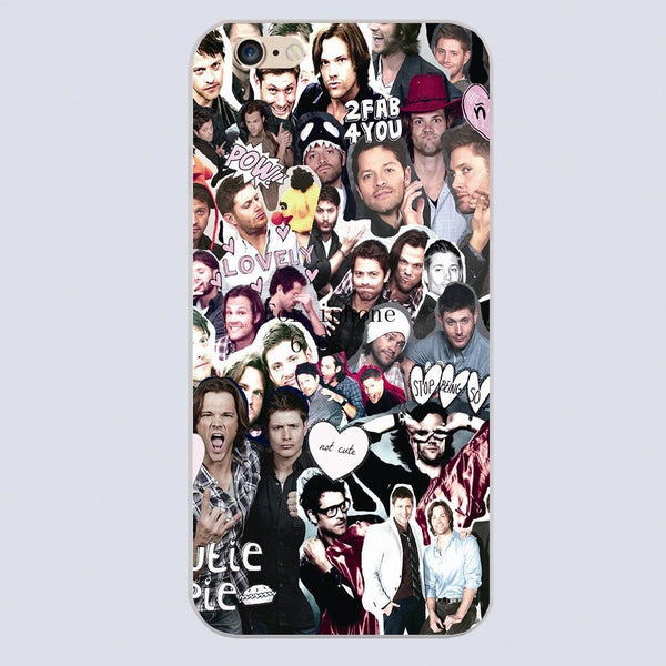 Supernatural COLLAGE Phone Cover for Iphone - Phone Cover - Supernatural-Sickness - 3