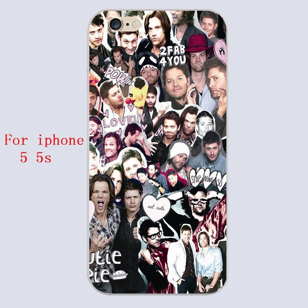 Supernatural COLLAGE Phone Cover for Iphone - Phone Cover - Supernatural-Sickness - 4
