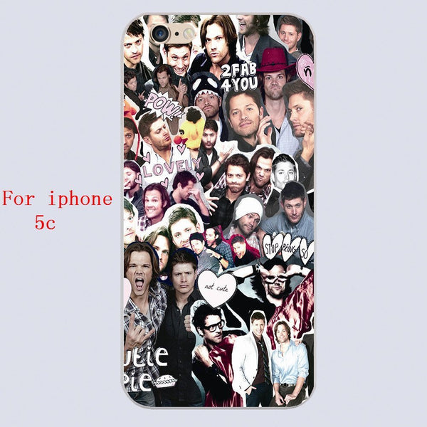 Supernatural COLLAGE Phone Cover for Iphone - Phone Cover - Supernatural-Sickness - 5