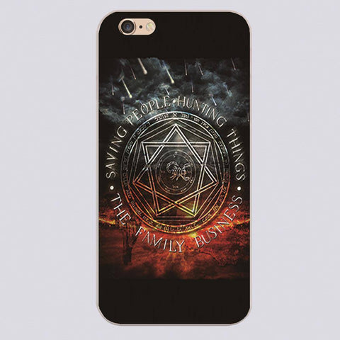 Supernatural Family Business Iphone Covers (Free Shipping) - Phone Cover - Supernatural-Sickness - 1