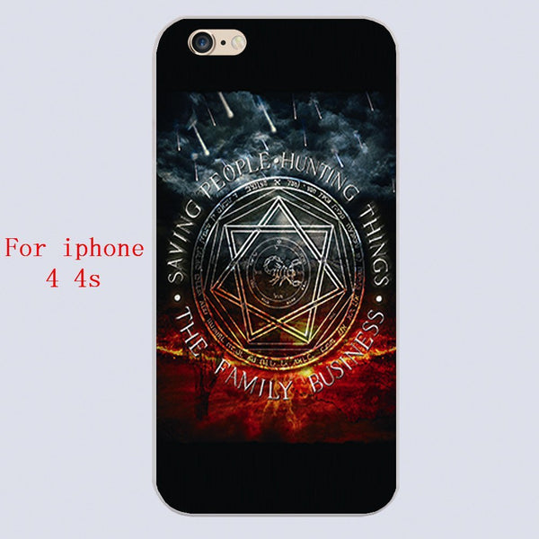 Supernatural Family Business Iphone Covers (Free Shipping) - Phone Cover - Supernatural-Sickness - 2