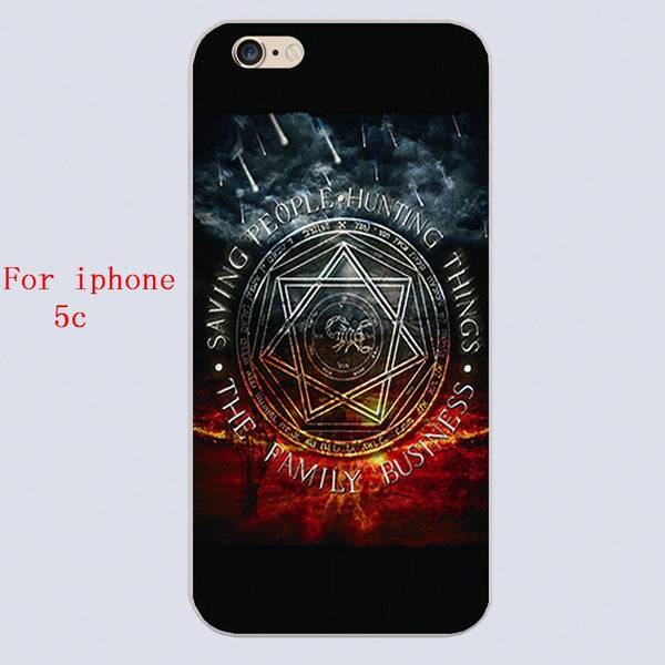 Supernatural Family Business Iphone Covers (Free Shipping) - Phone Cover - Supernatural-Sickness - 3