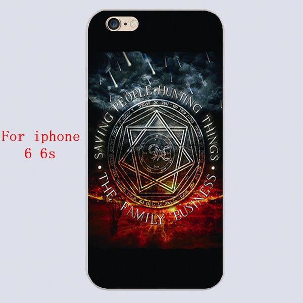 Supernatural Family Business Iphone Covers (Free Shipping) - Phone Cover - Supernatural-Sickness - 5