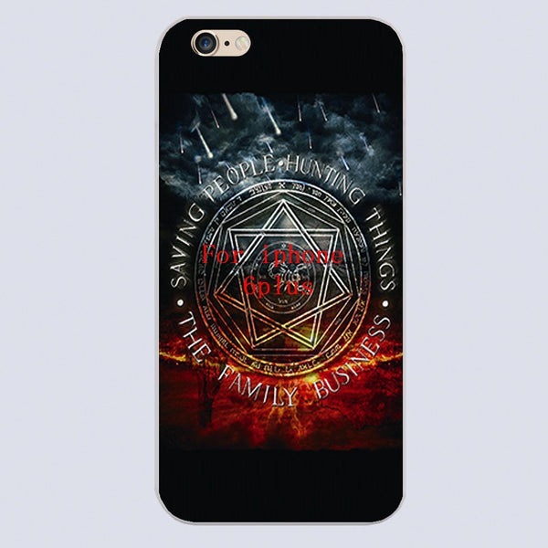 Supernatural Family Business Iphone Covers (Free Shipping) - Phone Cover - Supernatural-Sickness - 6