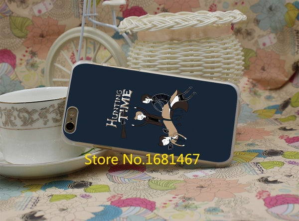 Supernatural Hunting Time Phone Covers (Free Shipping) - Phone Cover - Supernatural-Sickness - 4