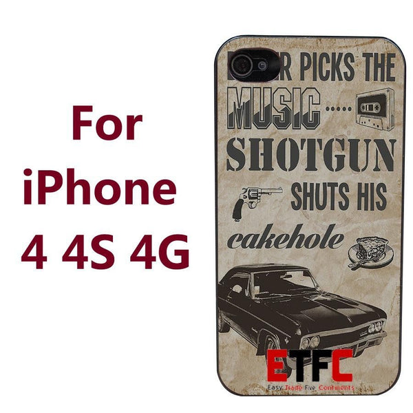 Supernatural Impala Iphone Covers (Free Shipping) - Phone Cover - Supernatural-Sickness - 2