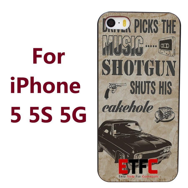Supernatural Impala Iphone Covers (Free Shipping) - Phone Cover - Supernatural-Sickness - 3