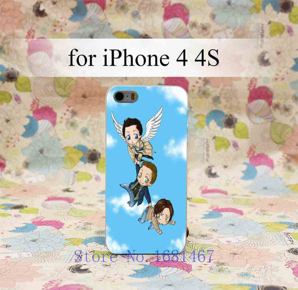 Supernatural Iphone Covers  (Free Shipping) - Phone Cover - Supernatural-Sickness - 2