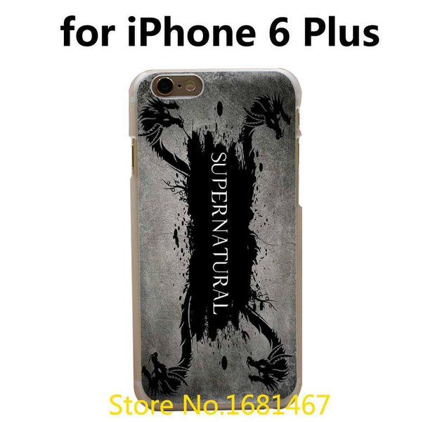 Supernatural Iphone Covers (Free Shipping) - Phone Cover - Supernatural-Sickness - 3