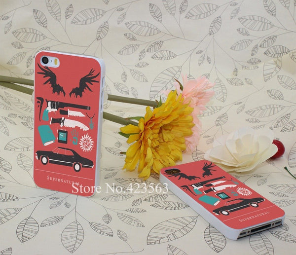 Supernatural Iphone Covers (Free Shipping) - Phone Cover - Supernatural-Sickness - 1
