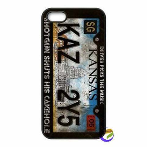 Supernatural License Plate Iphone Covers - Phone Cover - Supernatural-Sickness