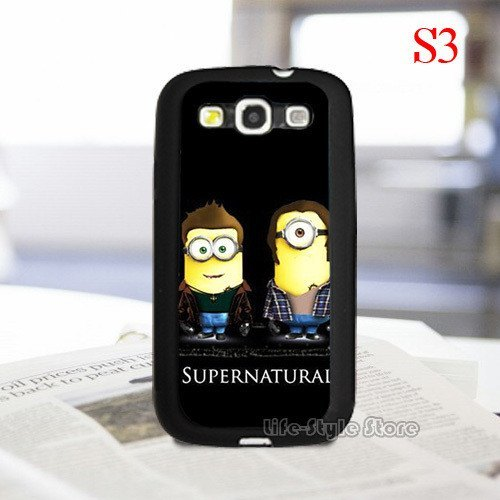 Supernatural Minion Samsung Phone Covers - Phone Cover - Supernatural-Sickness - 1
