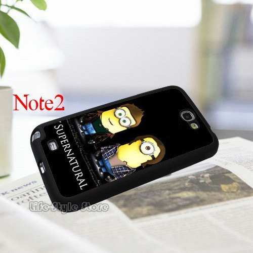 Supernatural Minion Samsung Phone Covers - Phone Cover - Supernatural-Sickness - 4