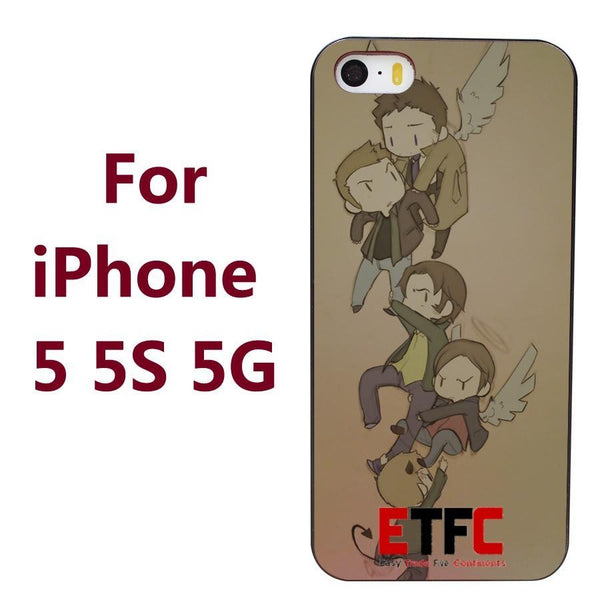 Supernatural Phone Covers (Free Shipping) - Phone Cover - Supernatural-Sickness - 3