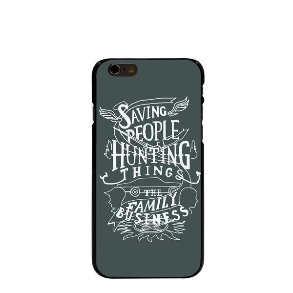 Supernatural Saving People Iphone Covers (Free Shipping) - Phone Cover - Supernatural-Sickness - 1