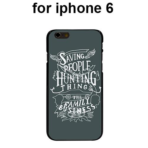 Supernatural Saving People Iphone Covers (Free Shipping) - Phone Cover - Supernatural-Sickness - 5