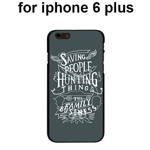 Supernatural Saving People Iphone Covers (Free Shipping) - Phone Cover - Supernatural-Sickness - 6