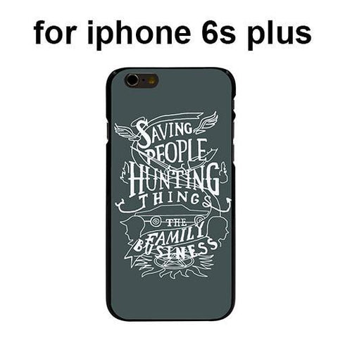 Supernatural Saving People Iphone Covers (Free Shipping) - Phone Cover - Supernatural-Sickness - 8