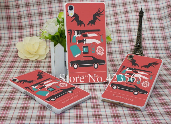 Supernatural Sony Xperia Phone Covers (Free Shipping) - Phone Cover - Supernatural-Sickness - 1