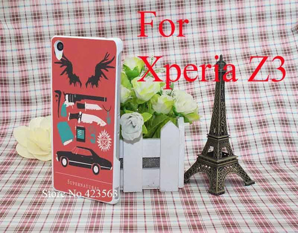 Supernatural Sony Xperia Phone Covers (Free Shipping) - Phone Cover - Supernatural-Sickness - 3