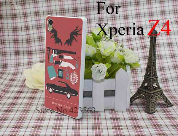 Supernatural Sony Xperia Phone Covers (Free Shipping) - Phone Cover - Supernatural-Sickness - 4
