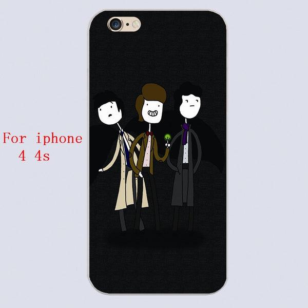 Superwholock Iphone Covers (Free Shipping) - Phone Cover - Supernatural-Sickness - 2